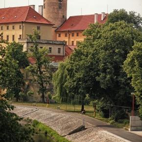 poděbradský zámek, Labe, cyklostezka