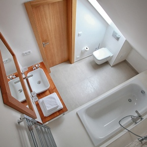 pokoj č. 3 koupelna